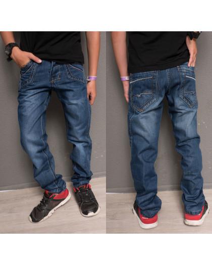 0118 Sevilla джинсы на мальчика модные синие осенние котоновые (30-35, 6 ед.) Sevilla