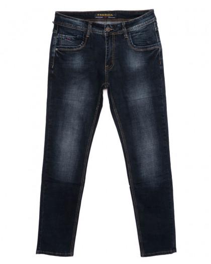 6104 Fansida джинсы мужские батальные синие осенние стрейчевые (32-38, 8 ед.) Fansida