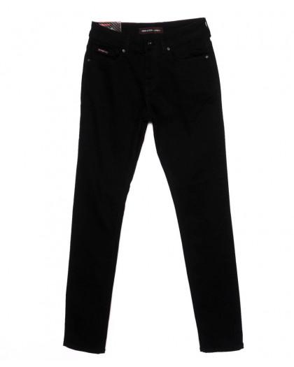 0463 Red Moon джинсы мужские молодежные черные осеннии стрейч-котон (28-34, 6 ед.) Red Moon