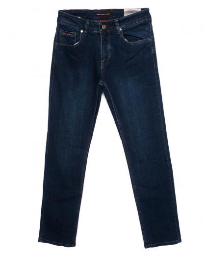 0232 Redmoon джинсы мужские темно-синие осеннии стрейч-котон (31-38, 6 ед.) Red Moon