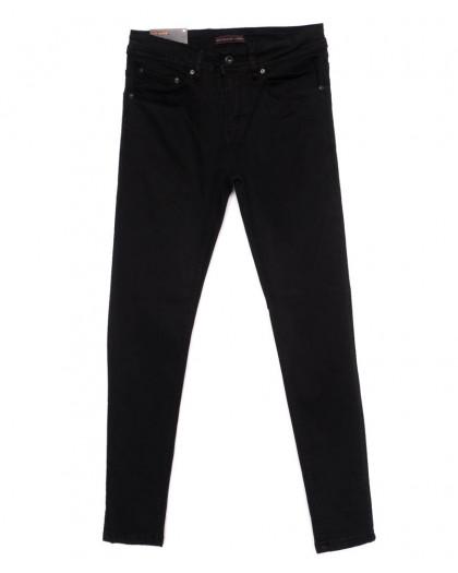 0552 Redmoon джинсы мужские черные осеннии стрейчевые (29-36, 7 ед.) Red Moon