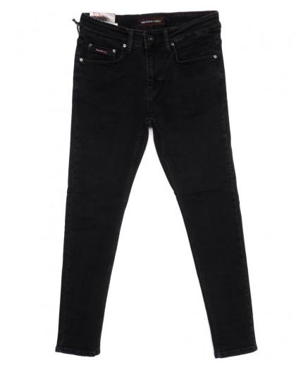 0374 Redmoon джинсы мужские темно-серые осеннии стрейчевые (29-36, 7 ед.) Red Moon