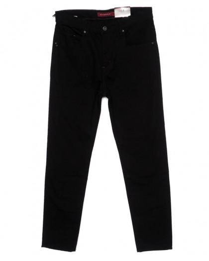 0376 Redmoon джинсы мужские черные осеннии стрейчевые (36-42, 6 ед.) Red Moon