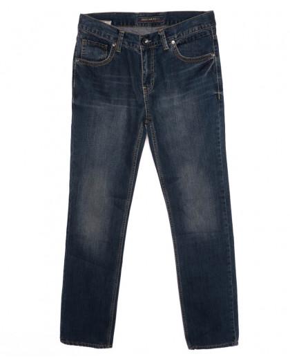 0340 D.Milito джинсы мужские синие осеннии котоновые (31-38, 6 ед.) D.Milito