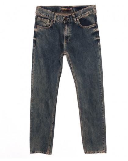0342 D.Milito джинсы мужские синие осеннии котоновые (30-36, 6 ед.) D.Milito