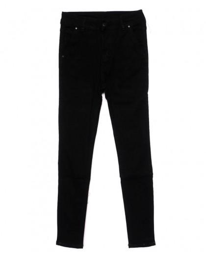 3371 New jeans американка черная осенняя стрейчевая (25-30, 6 ед.)  New Jeans