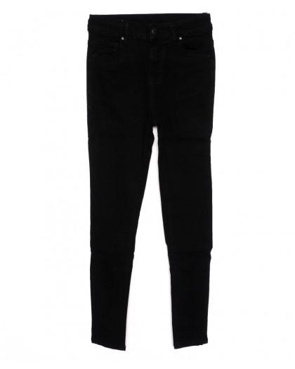 3372 New jeans американка черная осенняя стрейчевая (25-30, 6 ед.)  New Jeans