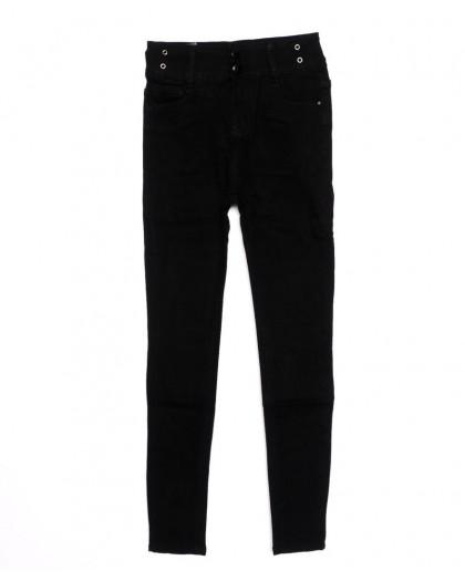 3390 New jeans американка черная осенняя стрейчевая (25-30, 6 ед.)  New Jeans