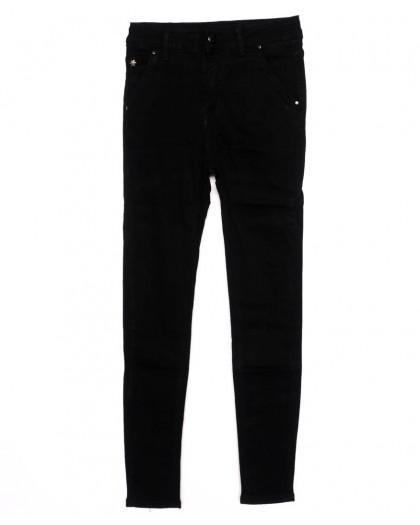 3395 New jeans американка черная осенняя стрейчевая (25-30, 6 ед.)  New Jeans