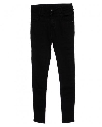 3359 New jeans американка черная осенняя стрейчевая (25-30, 6 ед.)  New Jeans