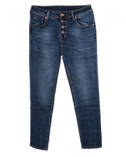 3349 New jeans американка черная осенняя стрейчевая (25-30, 6 ед.)  New Jeans