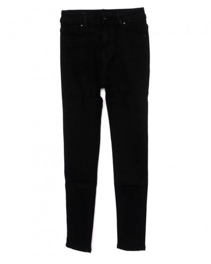 3351 New jeans американка черная осенняя стрейчевая (25-30, 6 ед.)  New Jeans