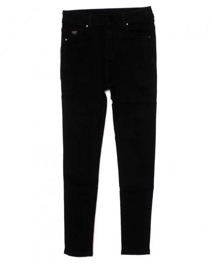 3391 New jeans американка черная осенняя стрейчевая (25-30, 6 ед.)  New Jeans