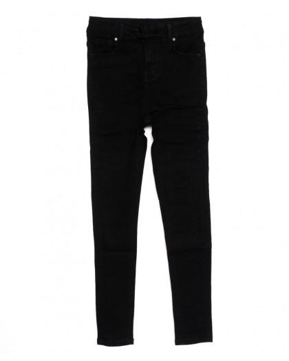 3369 New jeans американка черная осенняя стрейчевая (25-30, 6 ед.)  New Jeans