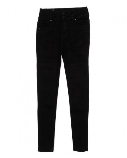 3362 New jeans американка черная осенняя стрейчевая (25-30, 6 ед.)  New Jeans