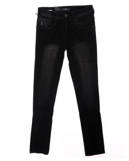 0012-0273-X LS джинсы мужские черные осенние стрейчевые (29-36, 8 ед.) LS