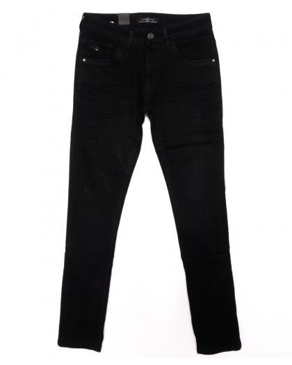 0012-0272-X LS джинсы мужские молодежные на резинке модные осенние стрейчевые (27-34, 8 ед.) LS