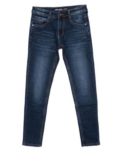 0022 Mr.King джинсы мужские молодежные синие осенние стрейч-котон (28-34, 8 ед.) Mr.King