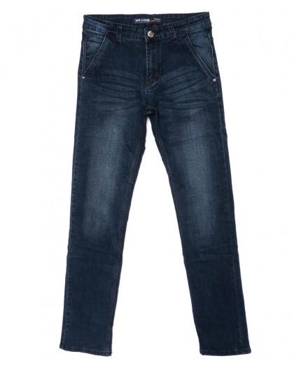 9003 Mr.King джинсы мужские батальные синие осенние стрейч-котон (32-38, 8 ед. 38й рост) Mr.King