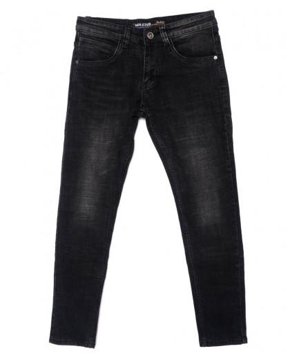 0009 Mr.King джинсы мужские молодежные темно-серые осенние стрейч-котон (28-34, 8 ед.) Mr.King