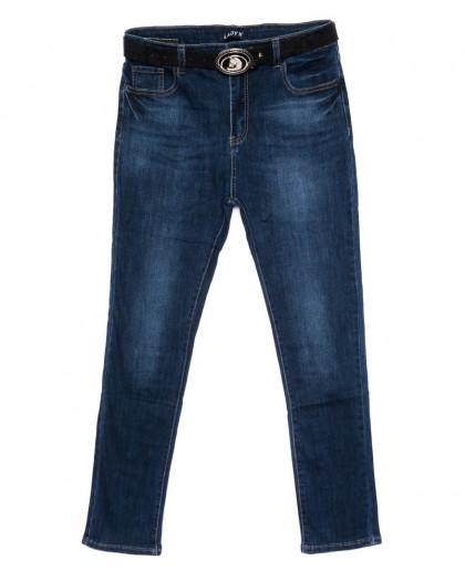 1440 Lady N джинсы женские батальные синие осенние стрейчевые (30-36, 6 ед.) Lady N
