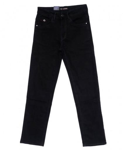 120258 LS джинсы мужские черные осенние стрейчевые (29-38, 8 ед.) LS