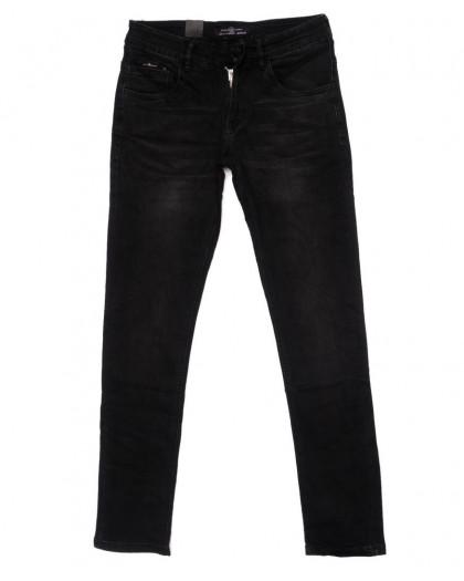 120275 LS джинсы мужские черные осенние стрейчевые (29-38, 8 ед.) LS