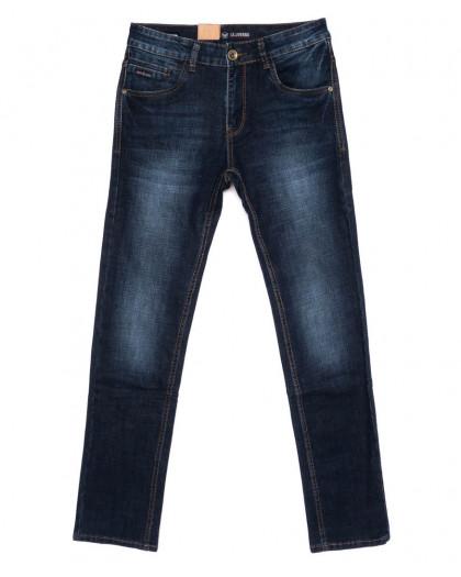 1018 LS джинсы мужские синие осенние стрейчевые (30-38, 8 ед.) LS