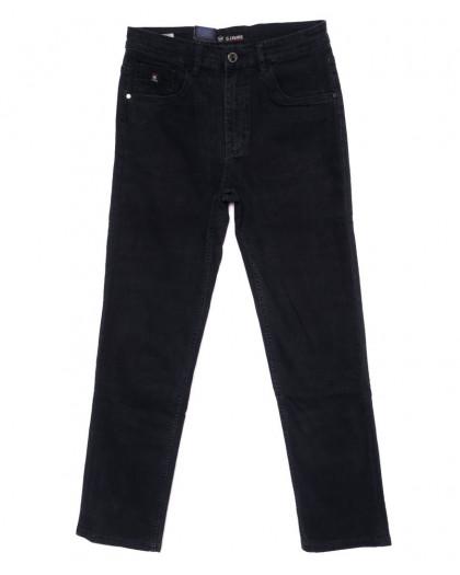 120263 LS джинсы мужские полубатальные темно-серые осенние стрейчевые (32-38, 8 ед.) LS