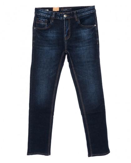 1007 LS джинсы мужские полубатальные синие осенние стрейчевые (32-38, 8 ед.) LS