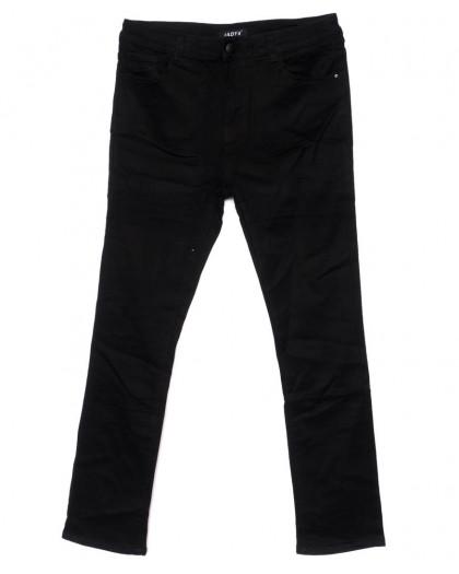 1448 Lady N джинсы женские батальные черные осенние стрейчевые (32-42, 6 ед.) Lady N