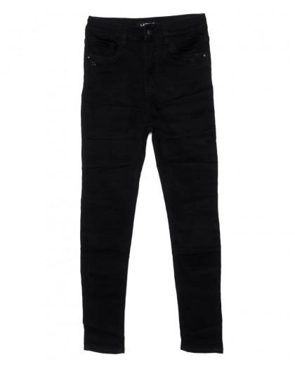 1444 Lady N джинсы женские батальные черные осенние стрейчевые (28-33, 6 ед.) Lady N