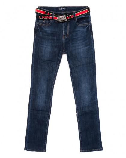 1454 Lady N джинсы женские полубатальные синие осенние стрейчевые (28-33, 6 ед.) Lady N