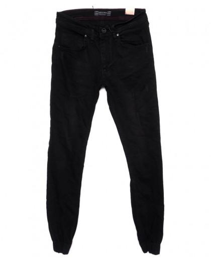6195-R Destry джинсы мужские с царапками на резинке осенние стрейчевые (29-36, 8 ед.) Destry