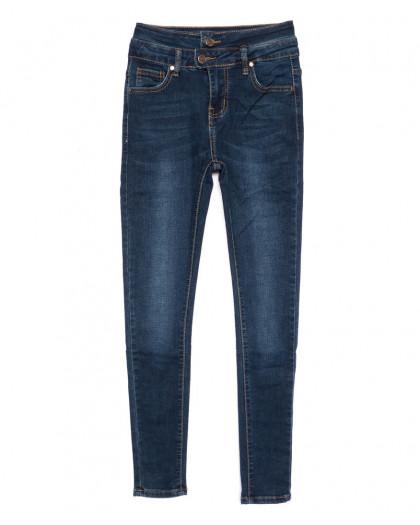 3447 New jeans американка синяя осенняя стрейчевая (25-30, 6 ед.) New Jeans