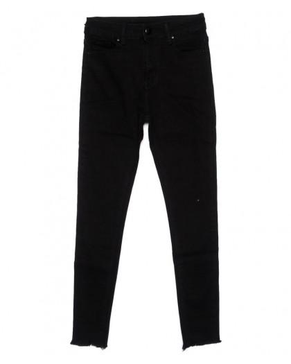 3397 New jeans американка черная осенняя стрейчевая (25-30, 6 ед.) New Jeans