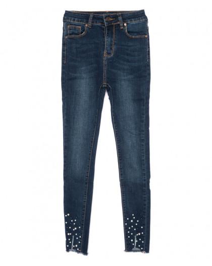 3463 New jeans американка модная синяя осенняя стрейчевая (25-30, 6 ед.) New Jeans