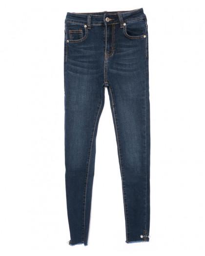 3476 New jeans американка синяя осенняя стрейчевая (25-30, 6 ед.) New Jeans