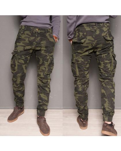 1870-army green Forex брюки мужские карго на флисе зимние стрейч-котон (30-40, 6 ед.) Forex