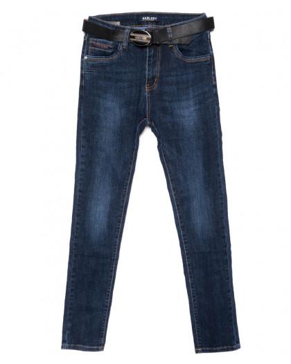 3605 Hanleby джинсы женские батальные синие осенние стрейчевые (28-33, 6 ед.) Hanleby