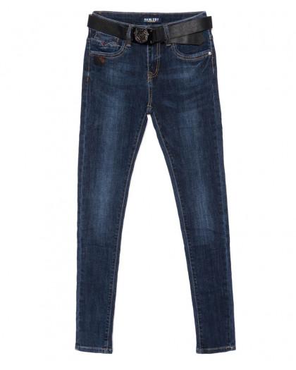 1906 Hanleby джинсы женские зауженные синие осенние стрейчевые (25-30, 6 ед.) Hanleby