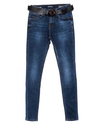 1907 Hanleby джинсы женские зауженные синие осенние стрейчевые (25-30, 6 ед.) Hanleby