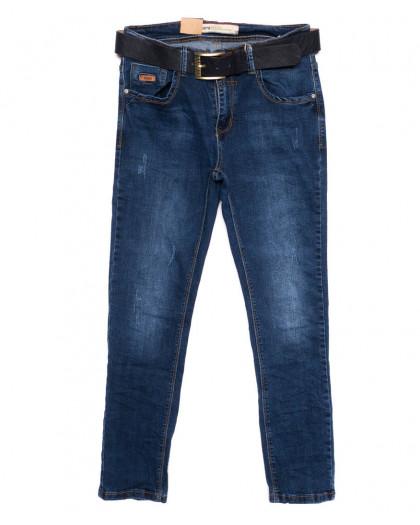 1239 M.Sara джинсы мужские синие осенние стрейчевые (31-42, 6 ед) Viman