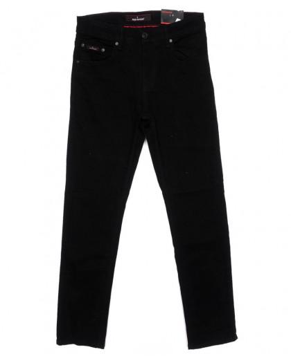 0124 Redmoon джинсы мужские черные осенние стрейчевые (31-38, 6 ед) Red Moon