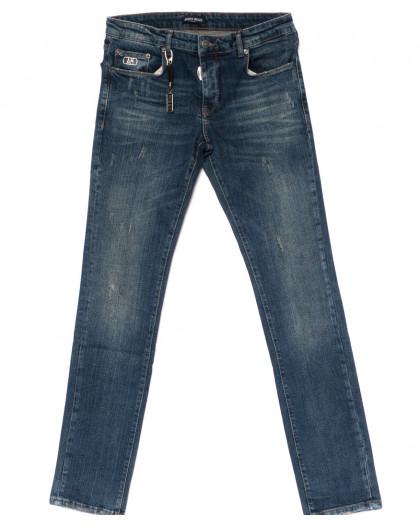 0015-21-007 Antony Morato джинсы мужские полубатальные с царапками осенние стрейчевые (32-38, 7 ед.) Antony Morato