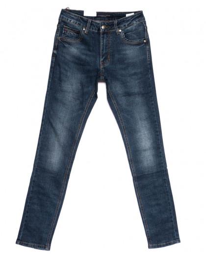 9291 God Baron джинсы мужские молодежные синие осенние стрейчевые (28-34, 8 ед.) God Baron