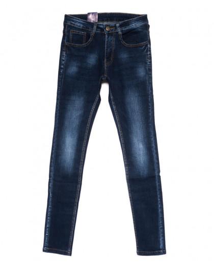 0309 Denim Fashion джинсы мужские молодежные зауженные синие осенние стрейчевые (28-34, 8 ед.) Denim Fashion