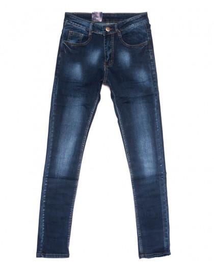 0307 Denim Fashion джинсы мужские зауженные синие осенние стрейчевые (29-36, 8 ед.) Denim Fashion