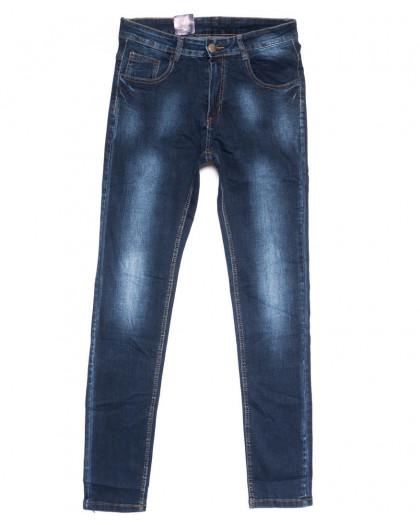 0305 Denim Fashion джинсы мужские молодежные зауженные синие осенние стрейчевые (28-34, 8 ед.) Denim Fashion
