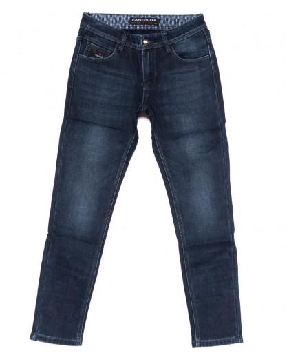 8284 Fangsida джинсы мужские синие на флисе зимние стрейч-котон (31-38, 8 ед.) Fangsida